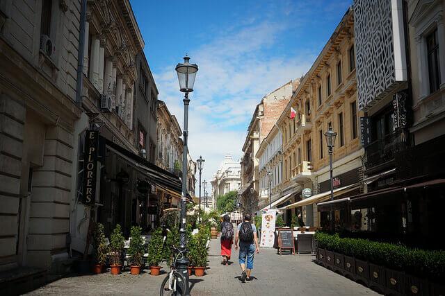 La Strada Lipscani - roumanie - bucarest